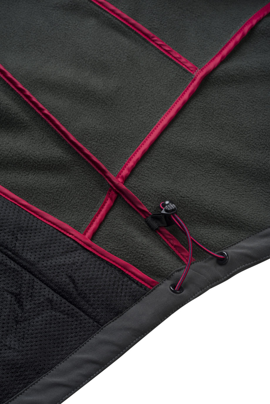 SOFTSHELL CLOSEUP INNERSIDE FLEECE
